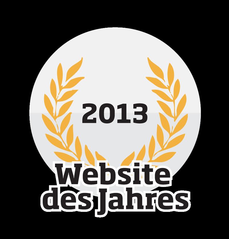 Webseite des Jahres